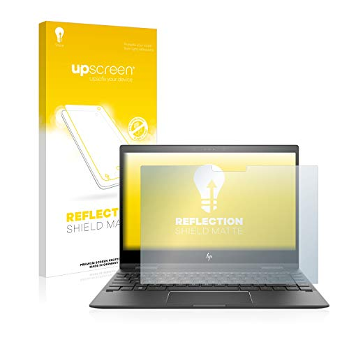 upscreen Entspiegelungs-Schutzfolie kompatibel mit HP Envy x360 13-ag0700ng – Anti-Reflex Bildschirmschutz-Folie Matt