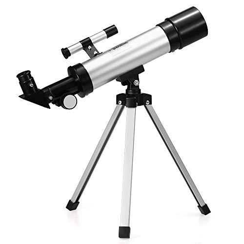 Telescopio Astronmico Profesional HD 90X Zoom 360X50Mm Espacio Refractivo Monocular Telescopio De Viaje con Trpode F36050