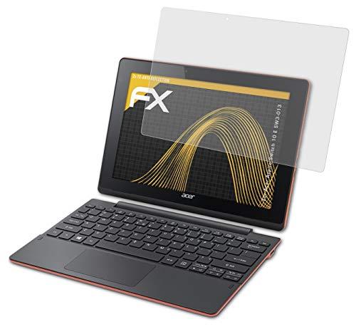 atFolix Panzerfolie kompatibel mit Acer Aspire Switch 10 E SW3-013 Schutzfolie, entspiegelnde & stoßdämpfende FX Folie (2X)