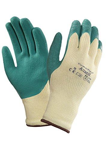 Ansell PowerFlex 80-100 multifunctionele handschoenen, mechanische bescherming, groen, 7, groen, 12