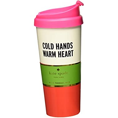 Kate Spade New York Thermal Mug, Cold Hands Warm Heart
