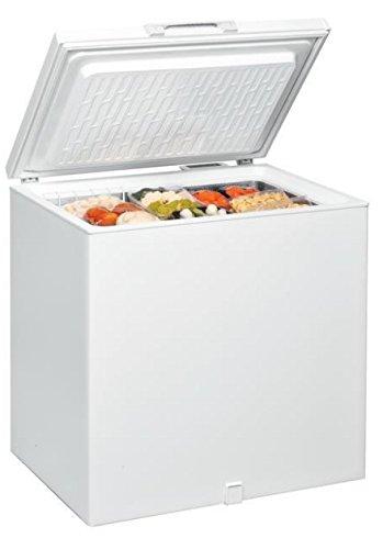 Ignis CE210EG - Congelador (Baúl, Independiente, Color blanco, 204L, 207L, 15 kg/24h)
