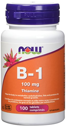 NOW B-1 Tablets, 100mg, 100 Count