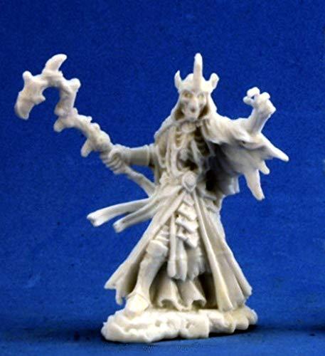 Pechetruite 1 x Lich - Reaper Bones Miniatura para Juego de rol Guerra - 77280