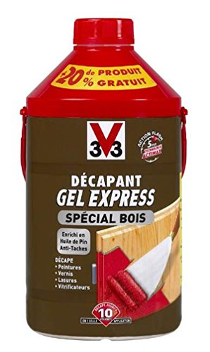 V33 – decapant madera Gel Express 1L