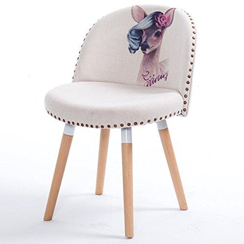 Chaise chaise de salle à manger en bois chaise de café chaise de dos de bureau chaise moderne d'apprentissage d'ordinateur chaise adulte chaise de bureau confort sédentaire n'est pas fatigué