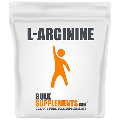 BulkSupplements L-Arginine Base Powder (500 Grams)