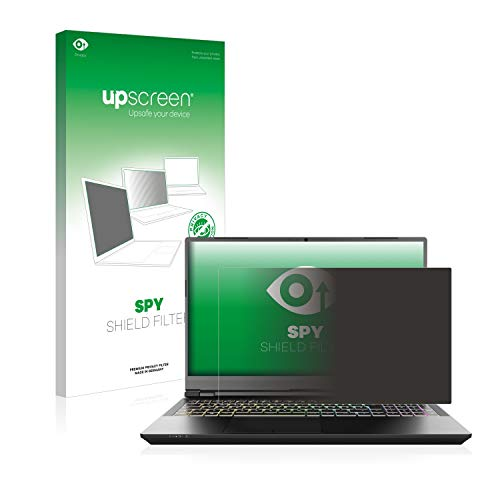 upscreen Privacy Screen Filter & Protector compatible with Schenker XMG Pro 15' - Anti-Spy, Anti-Glare