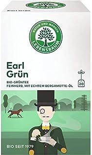 Lebensbaum Grüntee Earl Grey im Beutel 30 g - Bio