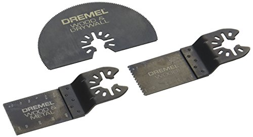 Dremel MM492 Universal Quick-Fit Cutting Assortment Pack, 3-Piece , Black