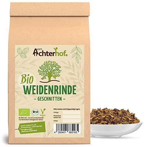 Weidenrinde BIO (250g) geschnitten getrocknet Bio-Weidenrindentee vom-Achterhof