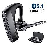 Best Bluetooth Phone Earpieces - Bluetooth Headset V5.1 aptX HD Wireless Bluetooth Earpiece Review