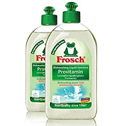 Frosch Natural Unscented Sensitive Provitamin Dish Soap