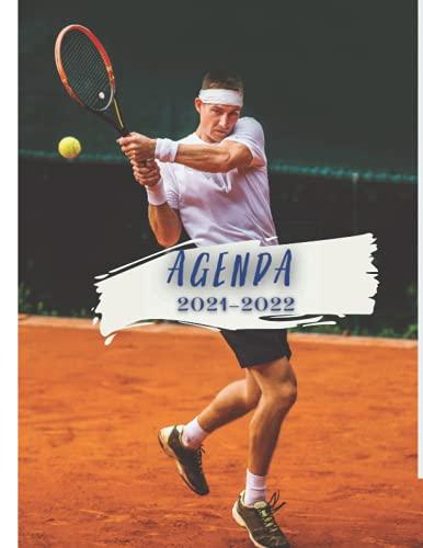 Agenda 2021-2022: tenis | deportes | raquetas | escolar - estudios , trabajo o vida personal 2021-2022 | Organizador y planificador para planificar ... Cuaderno práctico para una mejor organización