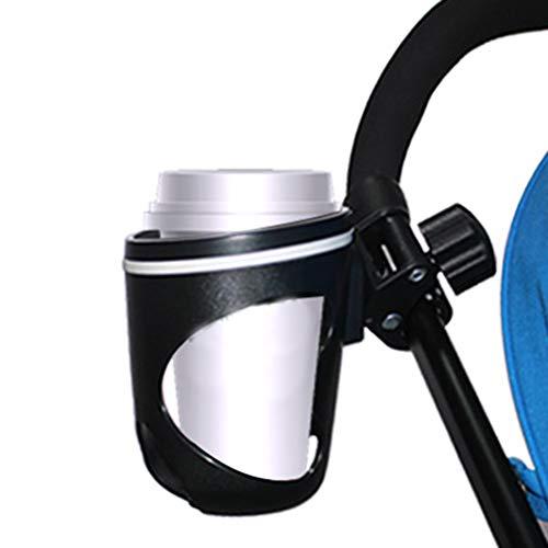 Sarplle Kinderwagen Getränkehalter 360 Grad Rotation Becherhalter Universal Flaschenhalter für Mountainbike, Fahrrad,Babay Buggy