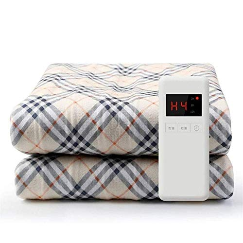 Lamyanran Electric Heated Throw Over Blanket Electric Blanket,Flannel Heated Blanket Fast-Heating, Full Body Warming,Temperature Settings Auto Off, for Couch or Bed Use