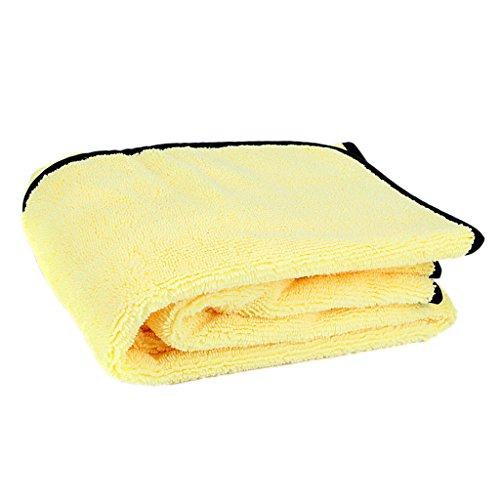 Almencla Auto Superabsorber Mikrofaser Reinigung Trocknen Waschlappen Handtuch Gelb