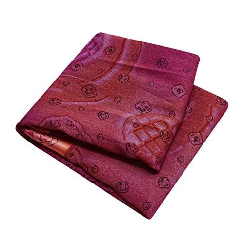 Indian Epoca Sari Stampato Floreale Pesante Sarong Sari Di Seta Miscela Involucro Mestiere L'Arte Della Decorazione Tenda Drappeggio