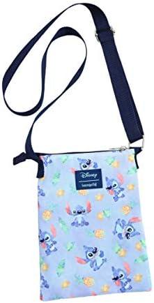 Loungefly Disney Lilo Stitch Watercolor Stitch Passport Crossbody Bag product image