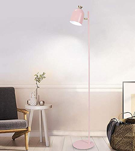 Wohnzimmer Stehlampe Schlafzimmerlampe Studie kreativ Retro-Stehlampe,Pink