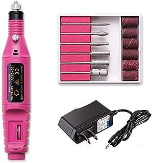Fantexy Professional Portable Electric Nail Drill,Acrylic Nail Kit, Gel Remover Nail Tools,File Finger Toe Care Nail Tips ...