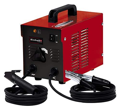 Einhell Elektro-Schweißgerät TC-EW 150 (230 V 50 Hz, Schweißstrom 40 - 80 A, Elektroden-Durchmesser 1.6 - 2.5 mm, stufenlos regelbarer Schweißstrom, Thermowächter, Masseklemme, Elektrodenhalter)