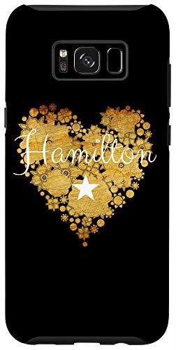 Galaxy S8+ I Love Hamilton Heart | Gift for Teenage Girl Women Case