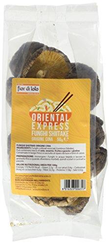 Oriental Express Funghi Secchi Shiitake - 50 gr