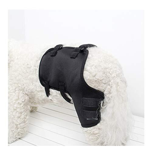 Z-PET Hundebeine Ellenbogen Unterstützung Hund Knieorthese Reha Knie Knöchel Schutzhülle Chirurgische Verletzungen Bandage Wrap (Color : Left-rear leg, Size : S)