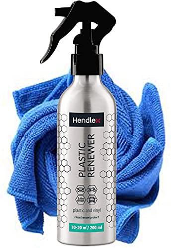 Hendlex Nano renovateur Plastique | Nettoyage Voiture | Nettoyage - renouvellement – Reparation | 200 ML