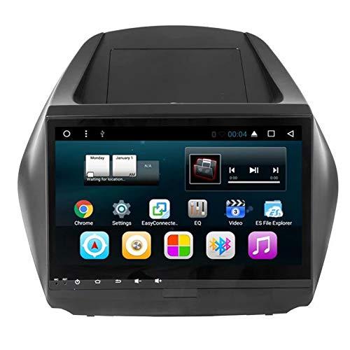 TOPNAVI Head Unit 10.1Inch Android 7.1 Auto Media pour Hyundai ix35 2010 2011 2012 2013 2014 2015 Voiture GPS Navigation Car Radio Stereo avec WiFi 3G RDS Lien Miroir