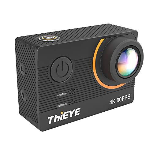 Thieye T5 Pro 4 K WiFi Azione Sport Fotocamera 20 MP Stabilizzata 2,0 pollici Touchscreen Ultra HD Correzione 60 M Impermeabile Sostegno Time-lapse Fast/Slow Motion