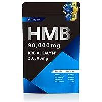 MAGINA HMB 90,000mg クレアチン 95,000mg相当 高純度 クレアルカリン サプリメント グルタミン アミノ酸 筋トレ ダイエット HMBクレアルカリン 1袋30日分 マギナ (HMBクレアルカリン, 1袋)