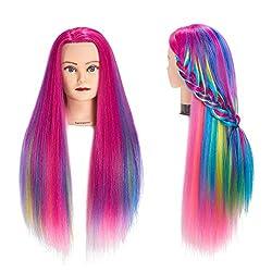 commercial Training Head 26 ″ -28 ″ Salon Head Dummy Hair Styling Training Head Dummy Beauty Doll… doll heads cosmetology