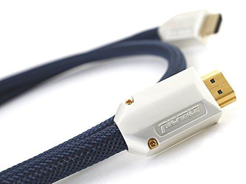 Ricable F05 Supreme 0,5 mt - Cavo HDMI 2.0 Ultra HD 4K HDR Bandwith 29 Gbps per CANALINE e CORRUGATI
