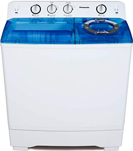 Panasonic 14kg Semi-Automatic Top Loading Washing Machine (NA-W140B1ARB,Blue) with Lint Filter