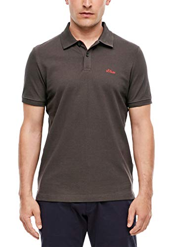 s.Oliver RED Label Herren Poloshirt aus Piqué Brown XL