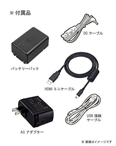パナソニックHDビデオカメラW585M64GBワイプ撮り高倍率90倍ズームピンクHC-W585M-P