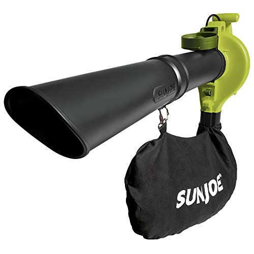 Sun Joe SBJ603E 13-Amp 240 MPH 3-in-1 Electric Blower/Mulcher/Vacuum, 32.7 Inch, Green