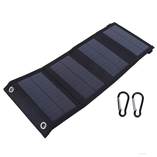 Panel solar, cargador de panel, 10W 5.5V para actividades al aire libre Viajes Senderismo Camping