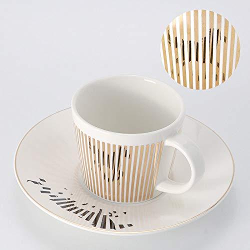 Kaffeetassen Mug,230Ml Keramik Kreativ Dynamische Reflexion Spiegel Goldrand Pferd Tier Mit Griff Untertasse Wiederverwendbare Tee Milch Espressotasse Geschenk Für Mutter Frauen Ehemann Freund Kinde