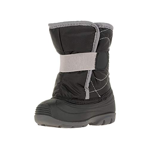 Kamik Baby SNOWBUG3 Snow Boot, black, 6 Medium US Toddler