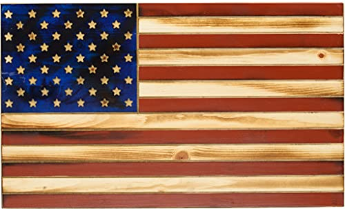 Tactical Traps Old Glory Rustic American Flag Gun Storage...
