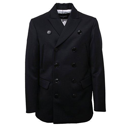 DSQUARED C6500 Cappotto Giacca Uomo D2 Blu Jacket Men [52]
