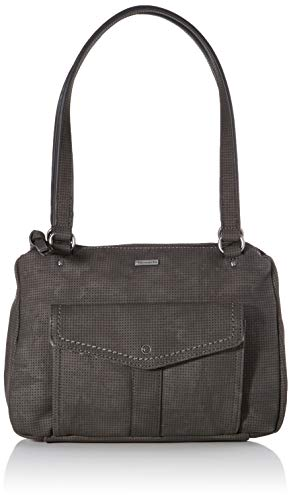 Tamaris Damen Adriana Shoulder Bag Schultertasche, Schwarz (Black), 12x22x30 cm