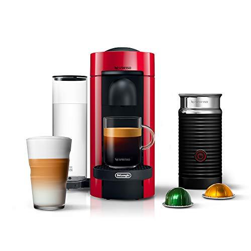 Nespresso VertuoPlus Coffee and Espresso Machine...