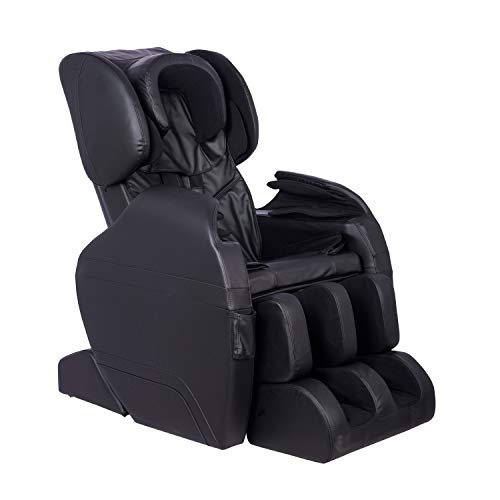 Electric Full Body Massage Chair, Zero Gravity & Foot Roller Air Massage, Shiatsu Recliner Sofa, with Heater, Automatic Footroller Vibrating 8887