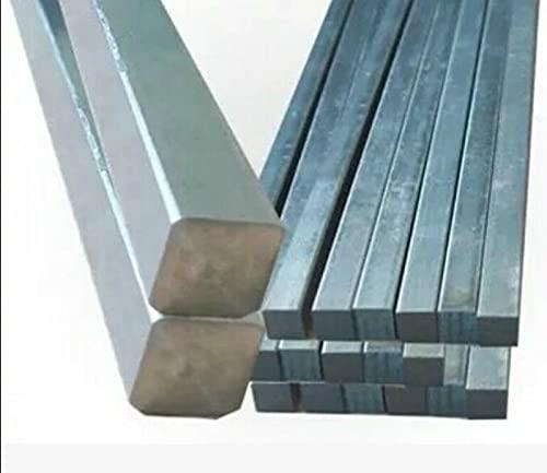 1 Uds 10x10x250MM barra cuadrada de titanio de largo titanio