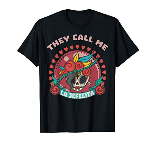 Me dicen La Jefa Jefecita regalo divertido para niñas Camiseta