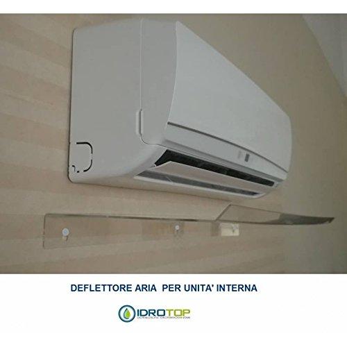 Deflector voor airconditioners en airconditioning. Eenvoudige installatie op alle modellen. - DEFLECTOR 900X300X30